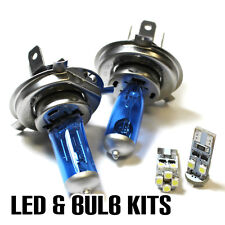 VW Transporter T5 2.0 55w Super White Xenon Main/Dip/Canbus LED Side Light Bulbs
