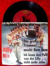 Single Billy Mo Die große Trommel macht Bum Bum