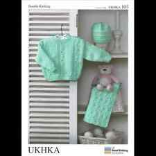 Jumper Hat and Scarf with OXO Cable Design Knitting Pattern UKHKA103