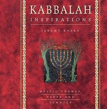 KABBALAH INSPIRATIONS Mystic Themes, Texts and Symbols BRAND NEW HARDCOVER