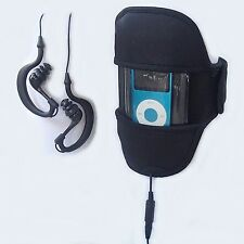 Waterproof CASE +Earphones Apple iPod Nano 7 7th 7G Mp3 6 6G 6th Gen Run Swim 6M