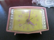 Vintage General Electric Art Deco pink clock