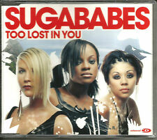 SUGABABES Too lost in you w/ REMIX & UNRELEASED & VIDEO UK CD single SEALED 2003