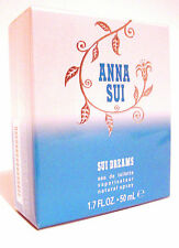 ANNA SUI DREAMS WOMEN PERFUME 1.7 OZ / 50 ML EDT DISCONTINUED SEALED BOX