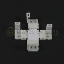 "Conector union clip en más ""+"" de 4 tira led de 10mm. con 2 pines SMD 5050 3528"