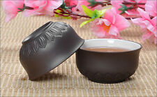 2pcs/lot Oriental Chinese Yixing purple clay Half handmade tea cup 50ml teacup