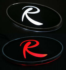 LED Tuning Point Front Grill R Logo Emblem 2Way For 10 11 12 Kia Sportage R