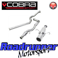 "VZ05b Cobra Sport Corsa D SRI 3"" Turbo Back Exhaust System Non Res & Cat 07-09"