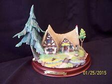 WDCC: Enchanted Places: Snow White & the 7 Dwarfs: The Dwarfs Cottage (MIB/COA)