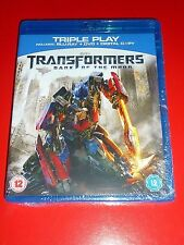 Transformers - Dark Of The Moon ( Blu-ray dvd and digital copy) SEALED