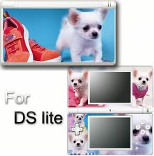 Dog Cute puppy VINYL SKIN DECAL STICKER For DS LITE #3