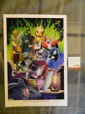 My Little Pony Things That Go Bump In The Night Signed Print by Andy Price PSA