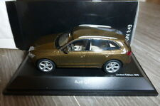 AUDI Q5 TDI 2012 MAYABRAUN SCHUCO 07561 1/43 BROWN METALLIC METAL ROAD CAR