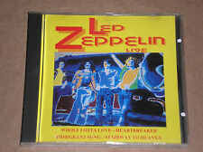 LED ZEPPELIN - LIVE LONDON & LOS ANGELES 1969/71 - RARO CD COME NUOVO (MINT)