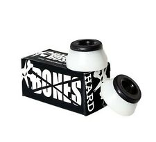 BONES HARDCORE SKAEBOARD BUSHINGS – COLOR: WHITE – NEW!!!