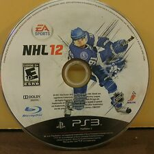 NHL 12  (PS3) USED AND REFURBISHED (DISC ONLY) #10897