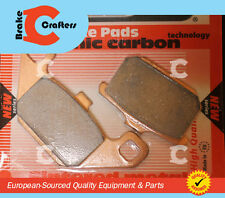 1984 - 1987 KAWASAKI GPz550/600R - EUROPEAN AD CARBON BRAKE PADS 1 SET