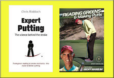 New Golf Putting Instructional Book and DVD - Free Shipping