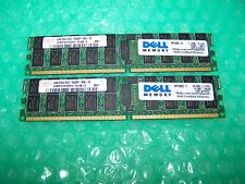 8GB DELL  PC2-5300P 667MHz DDR2  ECC Reg Server Memory (2x 4GB)