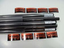 NEW KBS TOUR  BLACK NICKEL STIFF FLEX IRON SHAFTS 3-PW+GW+SW  10 SHAFTS