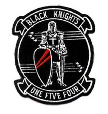 NAVY VF-154 Aviation Fighter Squadron Military Patch BLACK KNIGHTS ONE FIVE FOUR