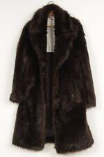 H&M X MAISON MARTIN MARGIELA MMM BEAVER COAT IN FAUX FUR MENS SZ 36 36R S SMALL