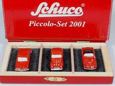 wonderful HO-modelcar VOLVO PV 544 SCHUCO PICCOLO-SET 2001 - red - 1/90 HO