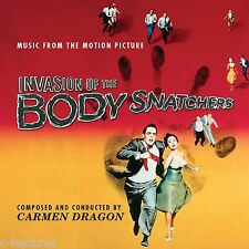 INVASION OF THE BODY SNATCHERS (1956) Carmen Dragon CD Soundtrack LTD EDITION!