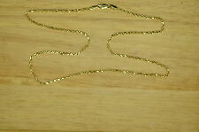 "18"" 14K YELLOW GOLD ROPE CHAIN NECKLACE 1.8mm 4.5 GRAMS #G14-0530"