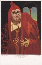 C1622) LA VOCE DEL PADRONE, BENVENUTO FRANCI DA PIENZA BARITONO NEL RIGOLETTO.