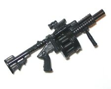 "MGL Multi-Shot Grenade Launcher - 1:18 Scale Launcher for 3-3/4"" Action Figures"