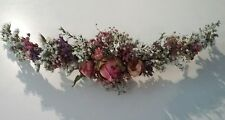 Handmade Natural Floral HAIR VINE Flower Crown MADE IN YOUR CHOICE OF COLOURS