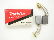 Makita CB303 Carbon Brushes Pair UT2204 RP0910 RP1110C 9015B 9016DB DA4031 MK2