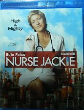 NURSE JACKIE The COMPLETE THIRD SEASON Blu-ray 12 Episodes + Special Features