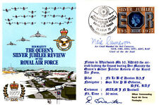 Queen's Silver Jubilee & Review of the RAF Signed Neil Cameron pilot Battle of B