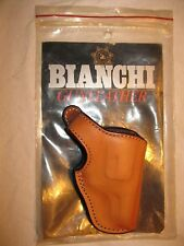 Bianchi #55L Lightning S&W Chief Right Hand Tan Leather Holster- New in Package