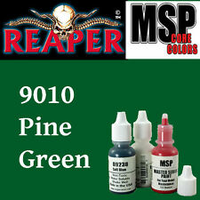 PINE GREEN 9010 - MSP core 15ml 1/2oz paint peinture figurine REAPER MINIATURE