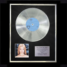 JESSICA SIMPSON SWEET KISSES CD PLATINUM DISC VINYL LP FREE SHIPPING TO U.K.