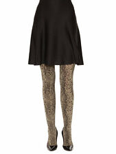 Wolford Rattle (snake print) Tights NEW size M