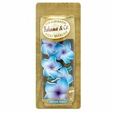 Bahama & Co Hanging Flower Necklace Car Air Freshener Tahitian Vanilla 06717