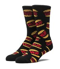 HUF DBC KING CREW SOCKS BLACK