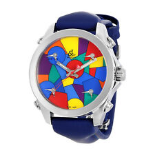 Jacob and Co. Five Time Zone Multi-Color Dial Mens Watch JCM-114