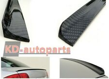 OPEL VAUXHALL VECTRA B CARBON LOOK BOOT LIP TRUNK SPOILER TUNING BRAND NEW!