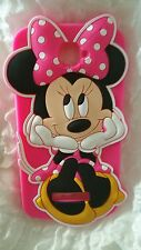 Funda para móvil MINNIE HARD PINK SILICONA para ALCATEL POP C7