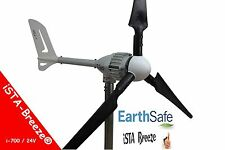 700W 24V i-700 WINDGENERATOR, iSTA-BREEZE® WINDKRAFTANLAGE,WIND TURBINE Black