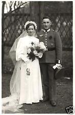 17975/ Originalfoto 9x13cm, Soldat, Hochzeitsfoto, ca. 1940