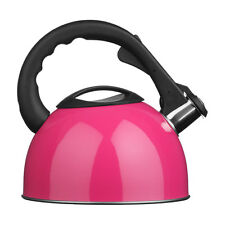 Whistling Kettle In Pink Colour Modern Features Attractive Design Brand New