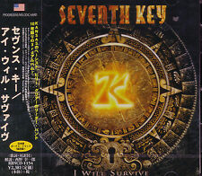 SEVENTH KEY I Will Survive + 1 JAPAN CD 2014 KANSAS Billy Greer David Ragsdale