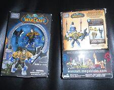 Mega Bloks WORLD OF WARCRAFT Colton - Set I91001 28 Bricks Fantasy Minifigure