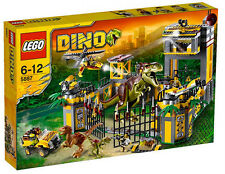 Lego 5887 DINO DEFENCE HEADQUARTERS HQ TRex Raptor Dinosaurs Jurassic World NISB